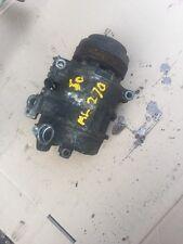 Mercedes ML270 2.7 Air Con Pump Work Order