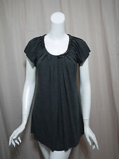 Bailey 44 Anthropologie Gray Blouse Top size S