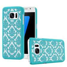 Ultra Thin Vintage Elegant Palace Flower Case PC Shell Cover for iPhone Samsung