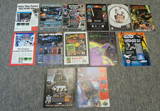 Collection of 13 STAR WARS Ads ~ Mostly 1990s ~ Video Games, Toys, Board Games