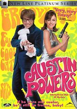 Austin Powers: International Man of Mystery (DVD, 1997) wild comedy spy send-up