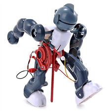 Cute DIY Electric Robot,Tumbling,Dancing,Walking  3-Mode Assembly for Children.