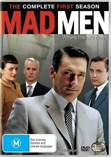 Mad Men : Season 1 [ 3 DVD Set ] Region 4, FREE Next Day Post...8182