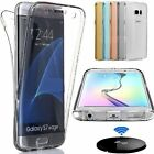 Shockproof 360°Silicone Protective Transparent Case Cover For Samsung Galaxy