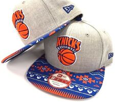 New York Knicks Authentic New Era 9Fifty 950 NBA Neon Mashup Snapback Cap Hat