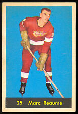 1960 61 PARKHURST HOCKEY #25 MARC REAUME EX-NM DETROIT RED WINGS CARD