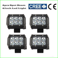 4X 18W 4inch Spot LED Work Light Motorcycle Bike Driving Vehicle ATV Barra Boat