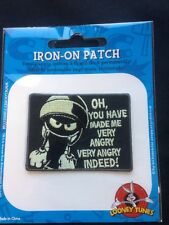 Looney Tunes Marvin The Martian Embroidered Licensed Patch VERY ANGRY (1524