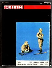 KIRIN SCALE MODEL 25010 - GERMANS AT REST 1944 - 1/35 RESIN KIT