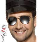 Top Aviator Sunglasses Cop Gun Biker Pilot 80s Shades Fancy Dress Smiffys