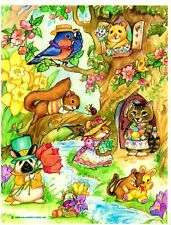 ❤❤WOODLAND CRITTER'S❤❤STICKER SHEET❤❤HALLMARK