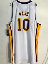 Adidas Swingman NBA Jersey Lakers Steve Nash White Alternate sz 3X