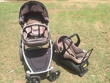 STRIDER PLUS 4 Wheeler Stroller & CAR CAPSULE Set - TONNES OF EXTRAS....
