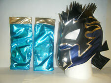 KALISTO W/ ARM SLEEVES KIDS CHILDRENS WRESTLING MASK WWE FANCY DRESS UP COSPLAY