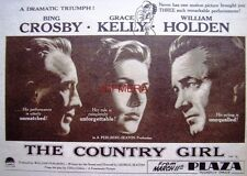 The COUNTRY GIRL #2 Original 1955 Film Advert - Bing Crosby Movie Ad