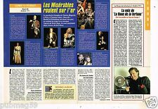 Coupure de presse Clipping 1992 (2 pages) Les Misérables Victor Hugo