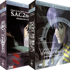 ★ Ghost in the Shell [Stand Alone Complex] ★ Intégrale - Pack 2 Coffrets 14 DVD