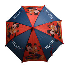 Disney MICKEY MOUSE PLUTO UMBRELLA Red Navy Personalized Free
