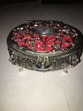JEWELRY BOX WITH MIRROR AND 3 STORAGE AREAS NEW
