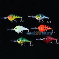 7x9cm 11g Biomimetic Sinking Fishing Bass Lure Crankbait Tackle Hook Crank Bait
