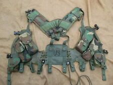 GENUINE issue US ARMY MK2 TACTICAL LOAD BEARING VEST LBE LBV AIRBORNE YOKE PLCE