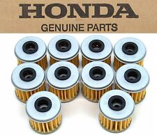 New Genuine Honda 10 Oil Filters CRF 150 250 450 R X TRX450R ER (See Notes) #M62