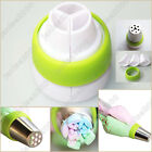 3-Color Icing Piping Bag Russian Nozzle Converter Coupler Cake Cream Decor Tool
