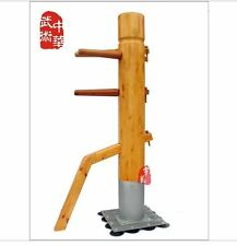 martial arts stand column Wing Chun Wooden Dummy one punch man kung fu training