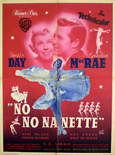 French 1sh Doris Day in TEA FOR TWO (1951)