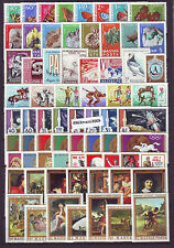 HUNGARY 1969. Complete year unit, 80 stamps 6 S/S MNH