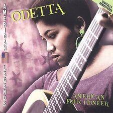 FREE US SH (int'l sh=$0-$3) ~LikeNew CD Odetta: American Folk Music Pioneer
