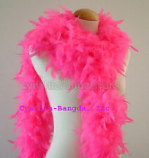 65 gms Chandelle feather boa boas HoT PiNK NEW!