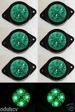8x 12V LED Vert Clignotant pour camion De remorque Utilitaire Bus Volvo Iveco