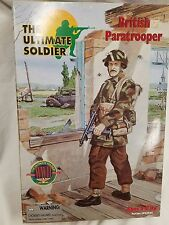 21st CENTURY TOYS - ULTIMATE SOLDIER BRITISH PARATROOPER NEW IN BOX
