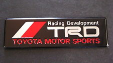 TRD Badge MR2 CELICA YARIS SUPRA STARLET MRS GT VVTI SPORT