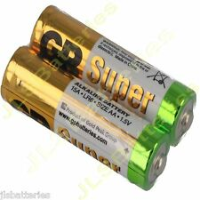 12 x AA GP Super Alkaline Batteries LR6 15A 1.5V DATED 2021 battery
