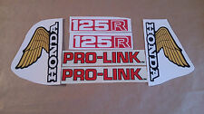 Autocollants / Stickers / Decal Honda XL125R - XLR 125 (1982)