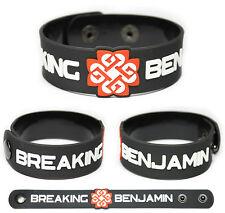 BREAKING BENJAMIN Rubber Bracelet Wristband Dear Agony Phobia