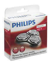 PHILIPS PHILISHAVE HQ9 SPEED XL SHAVER ROTARY RAZOR HEAD BLADE SET