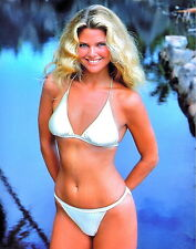 1980's CHRISTY BRINKLEY (Supermodel) color glamour classic photo