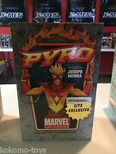 "2010 Bowen Marvel Bust Statue MIB -  PYRO Exclusive 11"" Inch #32/100"