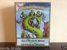 Shrek The Whole Story Quadrilogy (Shrek I-IV & Donkey's Christmas Shrektacular)