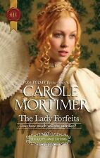 The Lady Forfeits (Harlequin Historical), Carole Mortimer, Good Book