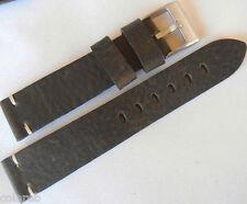 Cinturino cuoio vintage ColaReb SIENA verde scuro 20mm watch band strap bracelet