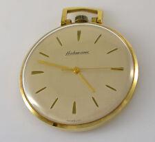 Habmann Handaufzug / Vintage / Taschenuhr /  vergoldet
