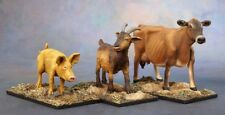 ANIMAL compagni di capra, Maiale, Mucca-Mietitore Miniatures DARK HEAVEN LEGENDS - 03719
