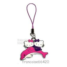 BIJOU PORTABLE GSM SAC / BRELOQUE / HELLO KITTY DAUPHIN