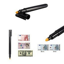 Money Checker Counterfeit Detector Marker Fake Banknotes Tester Pen Black