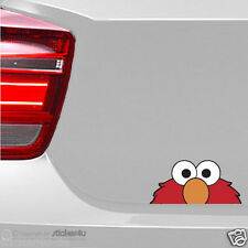 (11) Fun Sticker Aufkleber / Looking ELMO JDM Peeper Sesamstrasse