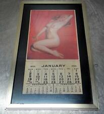 MARILYN MONROE 1955 GOLDEN DREAMS CALENDAR FRAME